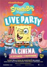 Locandina SpongeBob Live Party