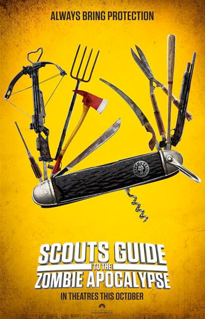 Locandina italiana Scouts Guide To the Zombie Apocalypse