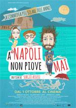 Poster A Napoli non piove mai  n. 0