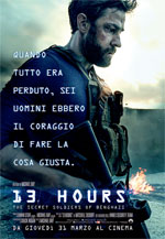 Poster 13 Hours: The Secret Soldiers of Benghazi  n. 0