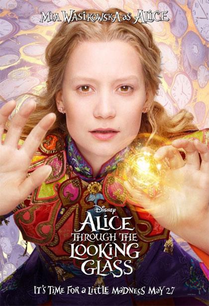 Poster 3 alice attraverso lo specchio - Lo specchio frasi ...