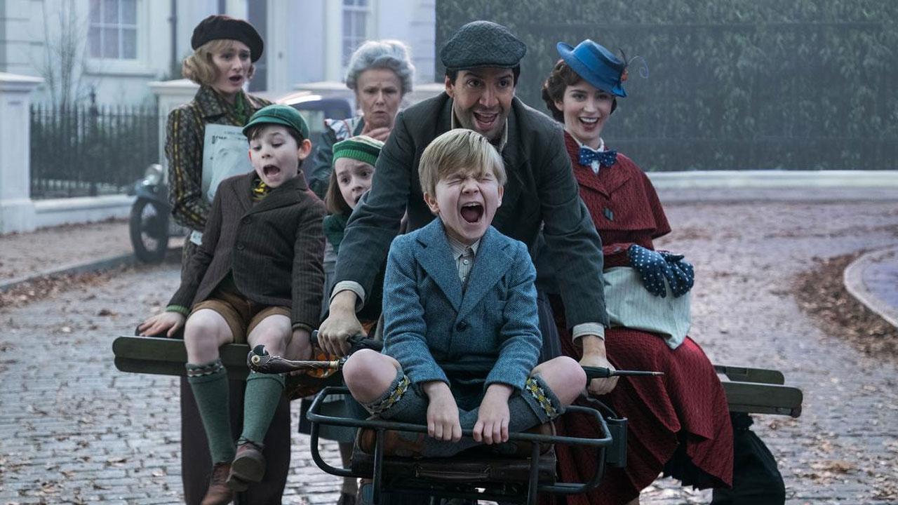 Risultati immagini per Mary Poppins Returns 2018