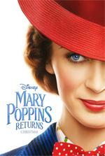Poster Il ritorno di Mary Poppins  n. 1