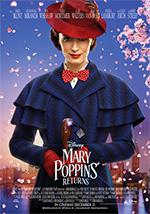 Poster Il ritorno di Mary Poppins  n. 2