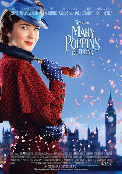 a3b4e132f2 Poster Il ritorno di Mary Poppins · «