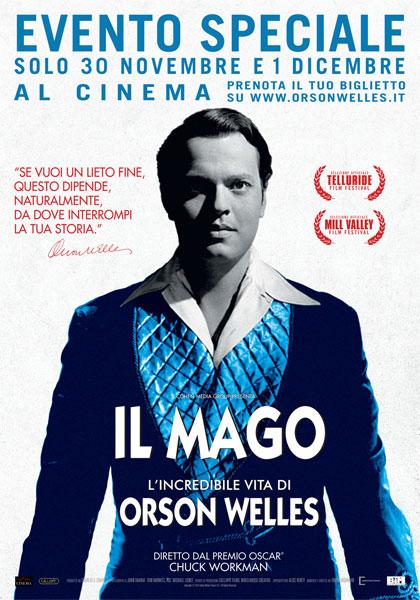 Locandina italiana Il Mago - L'incredibile vita di Orson Welles