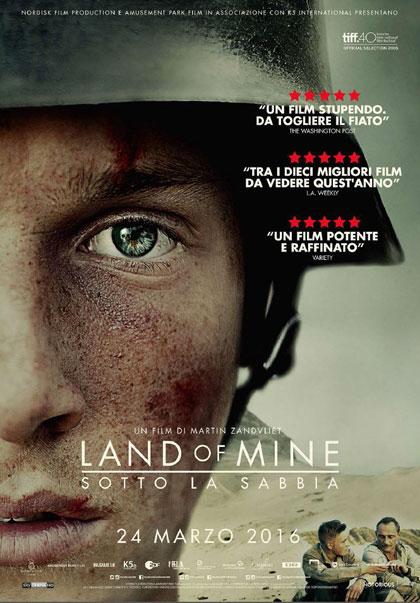 Trailer Land of Mine - Sotto la sabbia