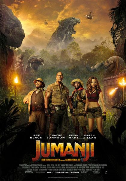 Trailer Jumanji: Benvenuti nella giungla