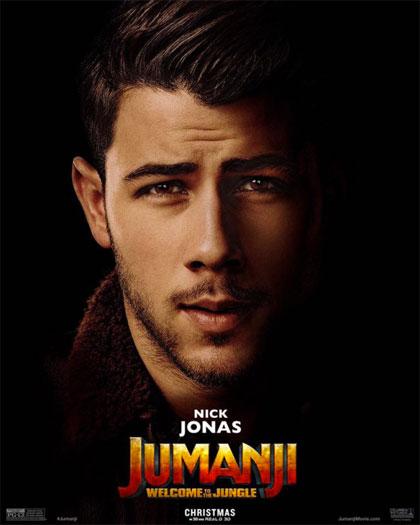 Poster Jumanji: Benvenuti nella giungla