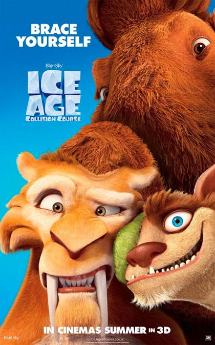 Poster L'era glaciale: In rotta di collisione