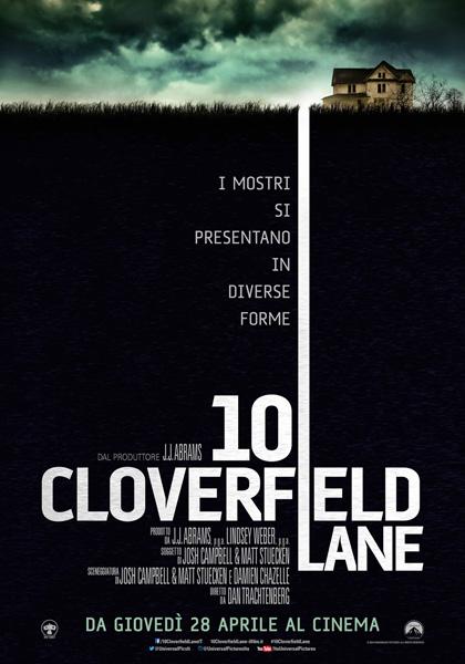 Locandina italiana 10 Cloverfield Lane