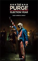 Poster La notte del giudizio - Election Year  n. 2