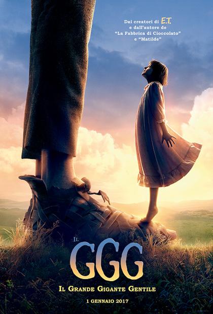 Poster Il GGG - Il Grande Gigante Gentile