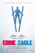 Poster Eddie the Eagle - Il coraggio della follia  n. 1