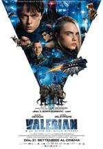 Poster Valerian e la città dei mille pianeti  n. 0