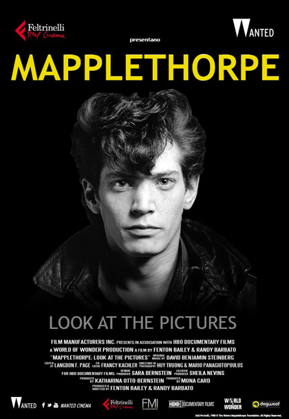 Locandina italiana Mapplethorpe - Look At the Pictures