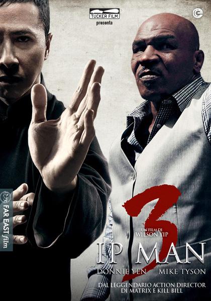 Locandina italiana Ip Man 3