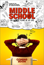 Poster Middle School: The Worst Years of My Life  n. 1