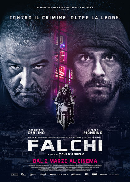 Locandina italiana Falchi