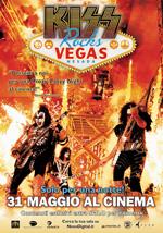 Locandina Kiss Rocks Vegas