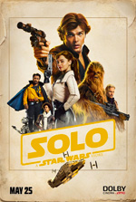 Poster Solo: A Star Wars Story  n. 6