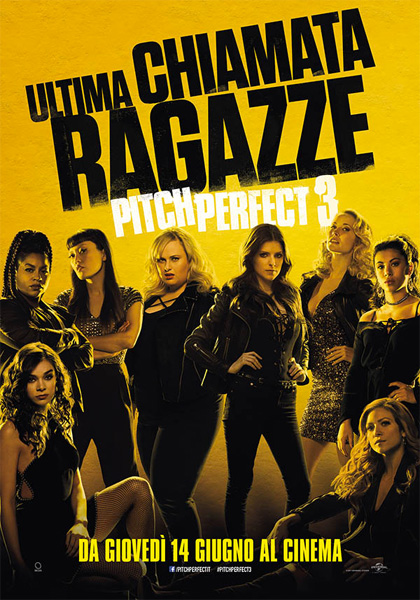 Locandina italiana Pitch Perfect 3
