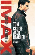 Poster Jack Reacher - Punto di non ritorno  n. 2