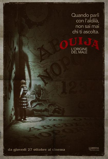 Locandina italiana Ouija - L'origine del male