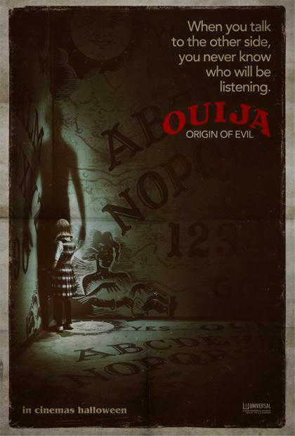 Poster Ouija - L'origine del male