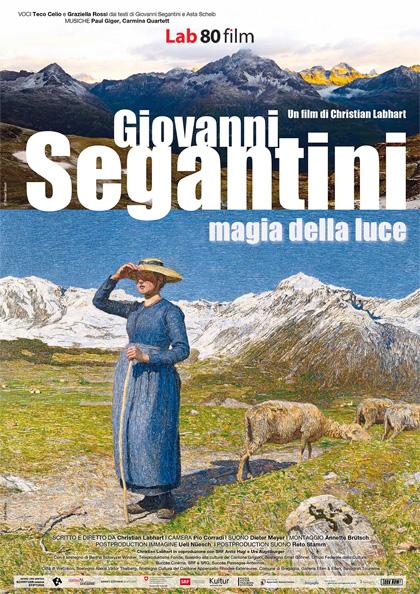 Locandina italiana Giovanni Segantini - Magia della luce