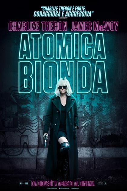 Risultati immagini per atomica bionda poster