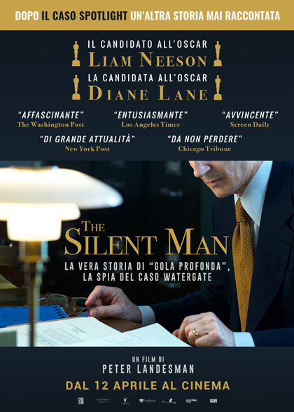 Locandina italiana The Silent Man