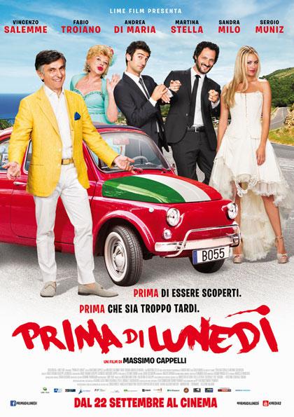 Locandina italiana Prima di lunedì