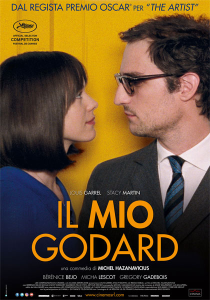 Locandina italiana Il mio Godard