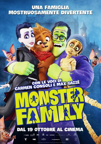 Locandina italiana Monster Family