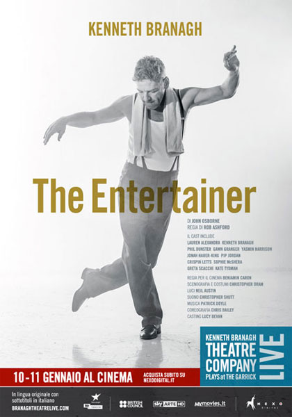 Trailer Kenneth Branagh Theatre Company - The Entertainer