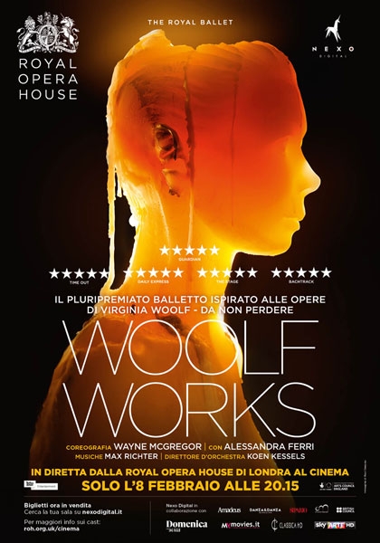 Trailer Royal Opera House: Woolf Works