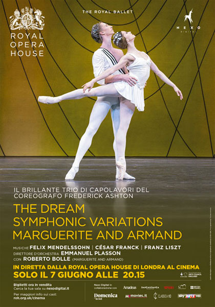 Trailer Royal Opera House: The Dream / Symphonic Variations / Marguerite and Armand