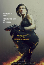 Poster Resident Evil: The Final Chapter  n. 2