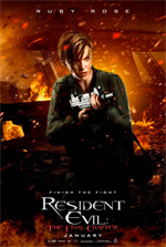 Poster Resident Evil: The Final Chapter  n. 8