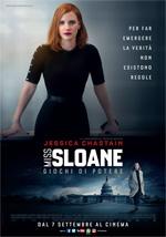 Poster Miss Sloane - Giochi di potere  n. 0