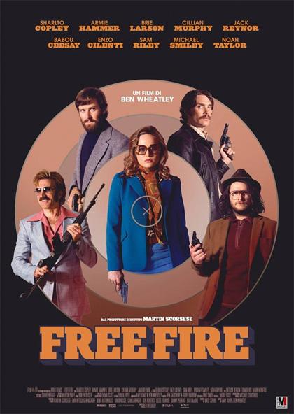 Locandina italiana Free Fire
