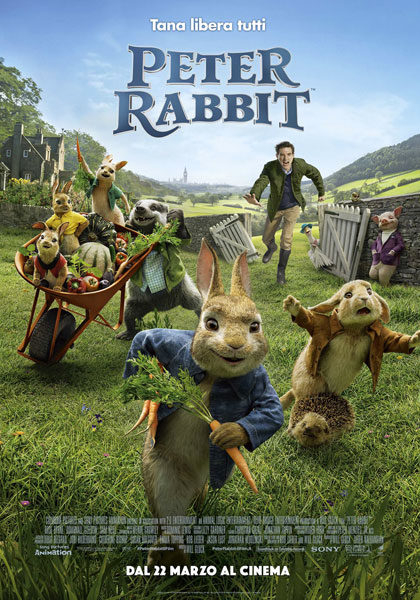 Locandina italiana Peter Rabbit