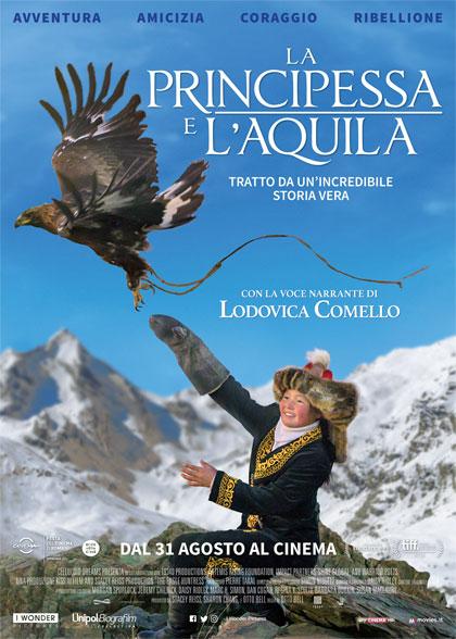 Locandina italiana La principessa e l'aquila