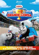 Locandina Il trenino Thomas - La grande corsa