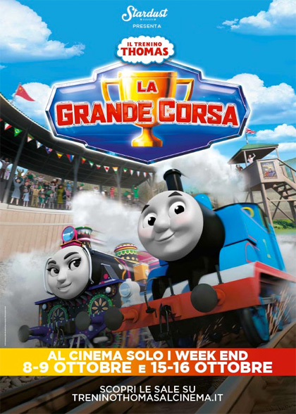 Trailer Il trenino Thomas - La grande corsa