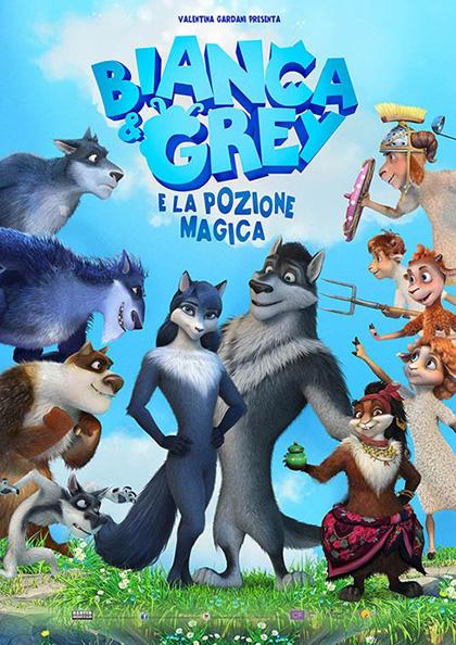 Locandina italiana Bianca & Grey e la Pozione Magica