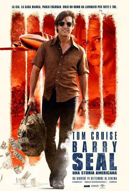 Locandina italiana Barry Seal - Una storia americana