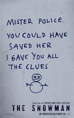 Poster L'uomo di neve  n. 2