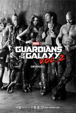 Poster Guardiani della Galassia Vol. 2  n. 1